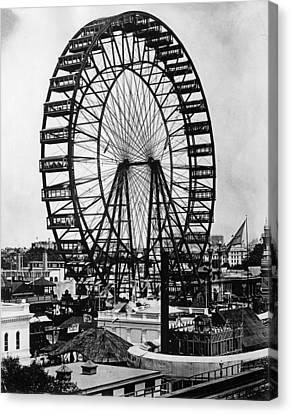 Ferris Wheel, 1893 Canvas Print by Granger
