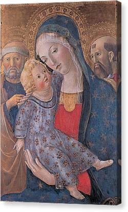 Fiduciario Di Francesco, Martini Canvas Print by Everett