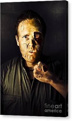 Fight Of The Living Dead Canvas Print by Jorgo Photography - Wall Art Gallery