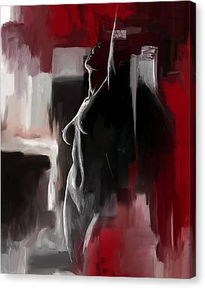 Semi-nude Canvas Print - Figure Work by Catf