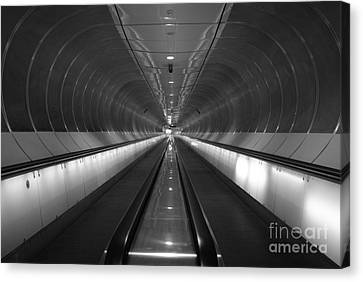 Canvas Print featuring the photograph Final Exit by Maja Sokolowska
