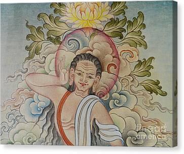 Milarepa Canvas Print - Fine Milarepa by Dhonden Tenzin
