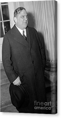 Ewing Canvas Print - Fiorello La Guardia, American Politician by Science Source