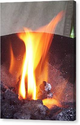 Fire Canvas Print by Ramon Labusch