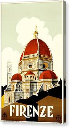 Firenza Canvas Print