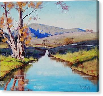 Fish River Tarana Canvas Print by Graham Gercken