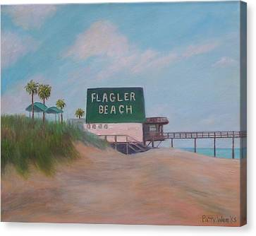 Flagler Beach Florida Canvas Print