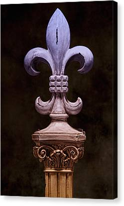 Fleur De Lis Iv Canvas Print by Tom Mc Nemar