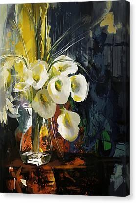 Floral 6 Canvas Print by Mahnoor Shah