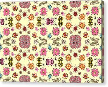 Floral Burst Canvas Print