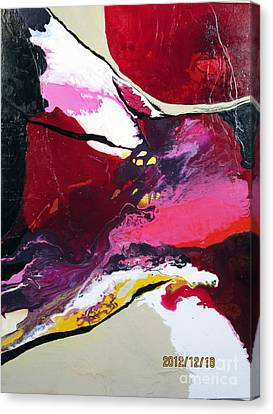 Flow With Me Canvas Print