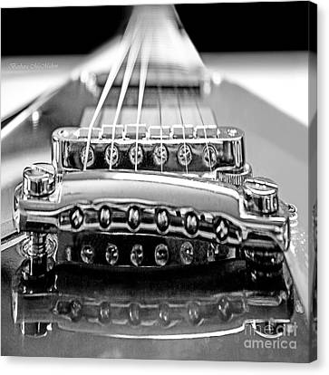 Flying V Strings Canvas Print