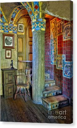 Old Canvas Print - Fonthill Castle  by Susan Candelario