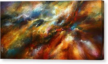 'force Of Nature' Canvas Print by Michael Lang