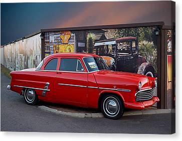 Ford Crestline Canvas Print