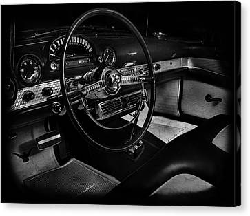 Ford Canvas Print - Ford Crestline Interior by Mark Rogan