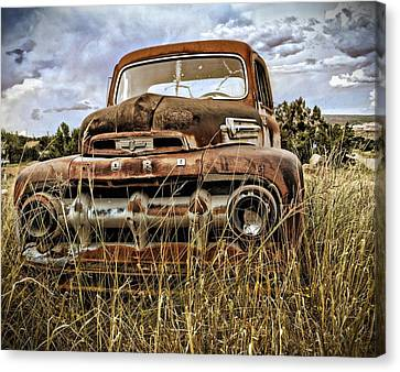 Ford Canvas Print by Gia Marie Houck