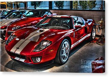 Ford Gt-40 Canvas Print by Tommy Anderson