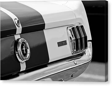 1966 Ford Shelby Mustang Gt 350 Taillight Canvas Print by Jill Reger