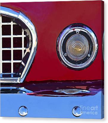 Ford Thunderbird Canvas Print by Elena Nosyreva