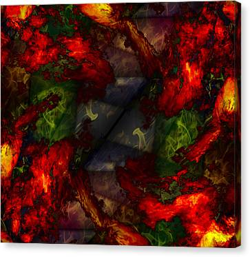 Formless And Void Canvas Print by Christopher Gaston