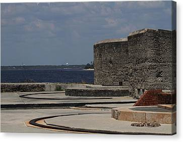 Fort Clinch 2 Canvas Print by Cathy Lindsey