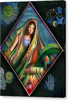 Fortune Teller Canvas Print by Luis  Navarro