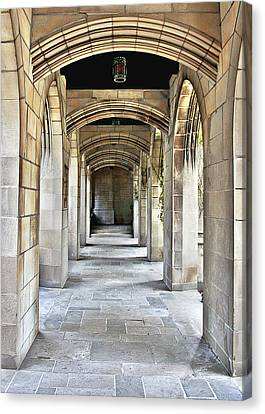 Fourth Presbyterian Church Chicago Canvas Print by Christine Till