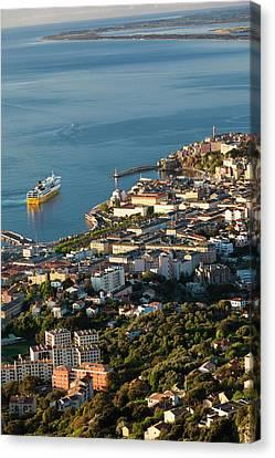 France, Corsica, Le Cap Corse, Bastia Canvas Print by Walter Bibikow