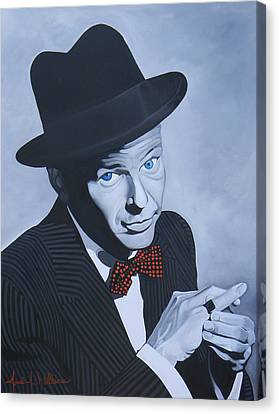 Frank Sinatra Canvas Print by Jared Wilkins