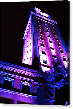 Canvas Print featuring the photograph Freedom Tower by J Anthony