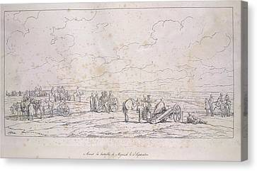 French Artillery Canvas Print by British Library