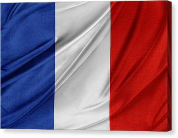 French Flag  Canvas Print by Les Cunliffe