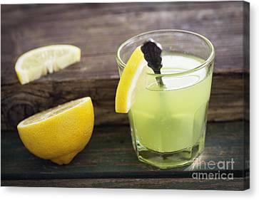 Fresh Lemonade Canvas Print by Mythja  Photography