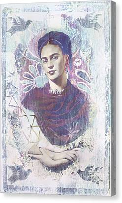 Nosyreva Canvas Print - Frida by Elena Nosyreva
