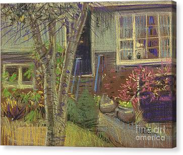 Front Door Canvas Print by Donald Maier