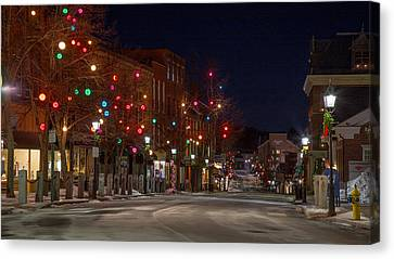 Front Street Canvas Print