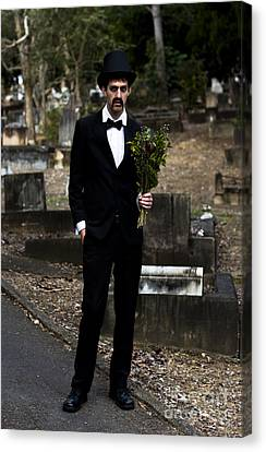 Funeral Attendee Canvas Print by Jorgo Photography - Wall Art Gallery