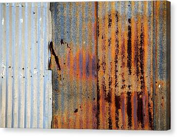 Galvanize Canvas Print - Galvanized by Peter Tellone