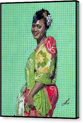Ganda Royalty Canvas Print