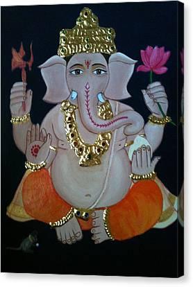 Ganesha  Canvas Print by Priya A