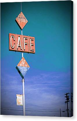 Gaston's Cafe Canvas Print