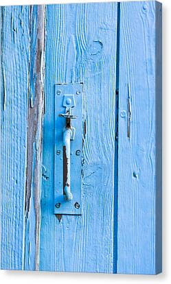 Gate Handle Canvas Print by Tom Gowanlock