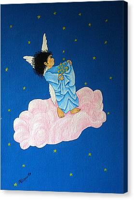 Gathering Starlight Canvas Print by Pamela Allegretto