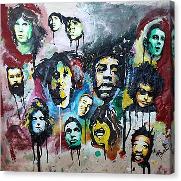 Genre Greats Canvas Print by Matt Burke
