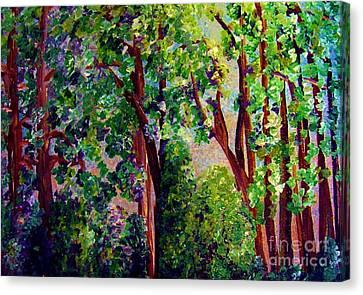 Gentle Breeze  Canvas Print by Eloise Schneider