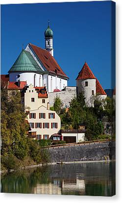 Germany, Bavaria, Fussen, Franciscan Canvas Print by Walter Bibikow