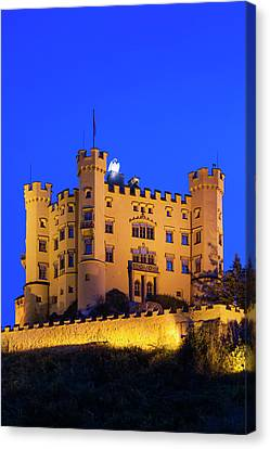 Germany, Bavaria, Hohenschwangau Canvas Print by Walter Bibikow