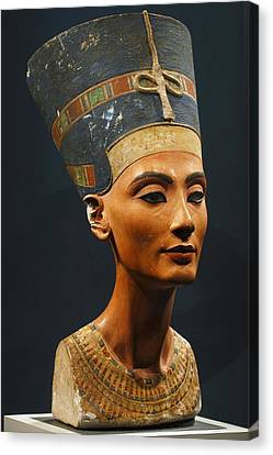 Germany. Berlin. Nefertiti Bust Canvas Print