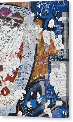 Germany, Berlin Wall Berlin Canvas Print